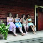 RanuaVillages: Ranuan kylissä pääsee myös saunomaan