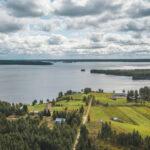 Pohjaslahti Piittisjärvi Ranua ilmakuva