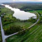 Kuukasjärvi Ranua ilmakuva
