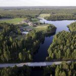Petäjäjärvi Ranua ilmakuva