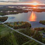 Simojärvi Ranua Kortteenperä, Sääskilahti ja Olanko